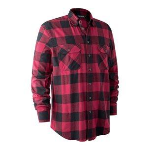 Deerhunter Marvin Flanell Shirt Red Big Check