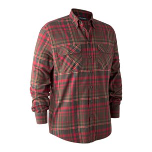 Deerhunter Marvin Flanell Shirt Red Check