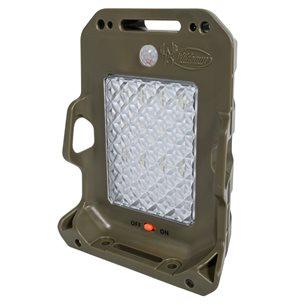 Åtelbelysnig Moonshine grön m rörelse sensor och solpanel