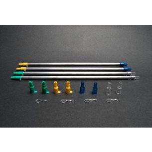Pickup tubes (2 sm, 2 lg)