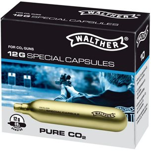 Walther Premium Kolsyrepatroner 12 g, 10-pack