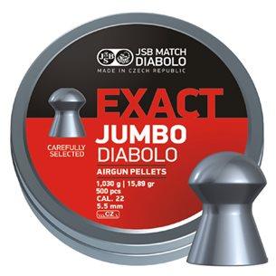 JSB Exact Jumbo, kulor, 5,52mm 500 stycken