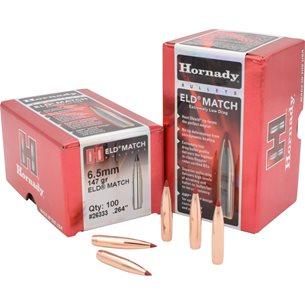 Hornady 6,5mm ELD Match 147gr Kulor 100st