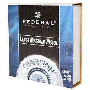 Federal Tändhattar 155 LP Mag 100 stycken