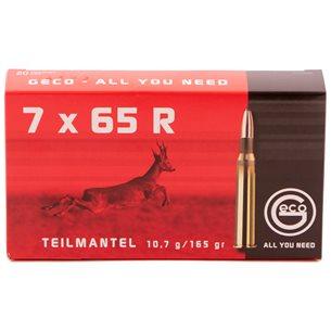Geco 7x65 R 10,7g/165gr, 20st/ask