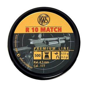 RWS R10 Match 4,5mm 0,53G 500st/ask
