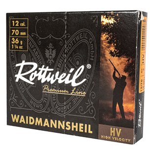 Rottweil Magnum 12/76 52g US 3, 10st/ask