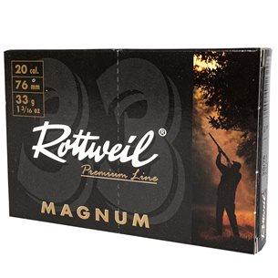 Rottweil Magnum 20/76 33g US 2, 10st/ask