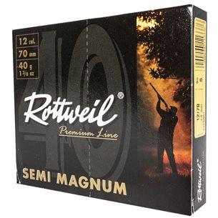 Rottweil Semi Magnum 12/70 40g US 5, 10st/ask
