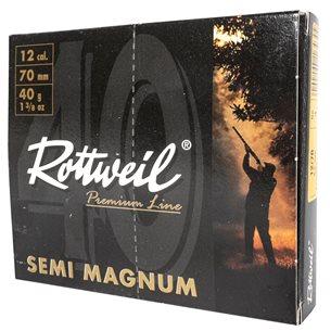 Rottweil Semi Magnum 12/70 40g US 3, 10st/ask