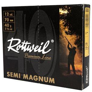 Rottweil Semi Magnum 12/70 40g US 1, 10st/ask