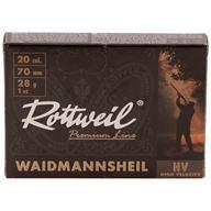 Rottweil Waidmanns Plast 20/70 28g US 7, 10st/ask
