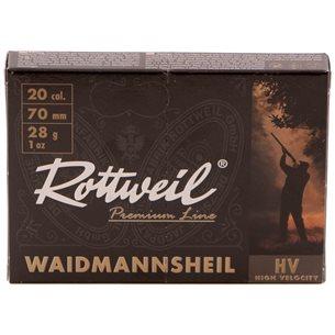 Rottweil Waidmanns Plast 20/70 28g US 3, 10st/ask