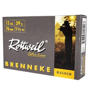 Rottweil Brenneke 12/76 Magnum 39g, 5st/ask