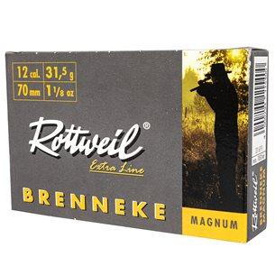 Rottweil Brenneke 12/70 Magnum 31,5g, 5st/ask
