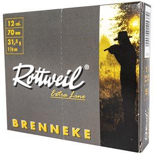 Rottweil Brenneke 12/70 31,5g, 10st/ask