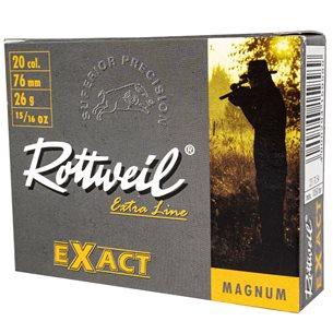 Rottweil Exact slug 20/76 26g, 5st/ask