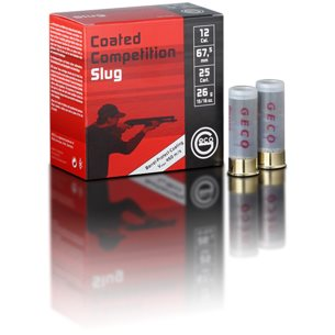 Geco Coated Competition slug 12/67,5 26g, 100st/ask