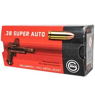 GECO .38 Super Full Metal Jacket 124gr 50st/ask