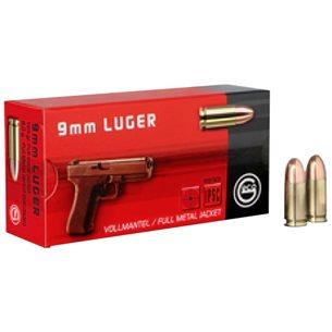 Geco 9mm Luger FMJ 8g/124gr, 1000st/låda