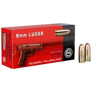 GECO patroner 9mm Luger FMJ 8,0g 50st/ask