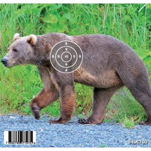 Gyttorp måltavla luftgevär Björn