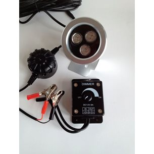 Åtelbelysning. 3W LED Dimbar
