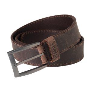 Arvak Läder bälte Deep brown