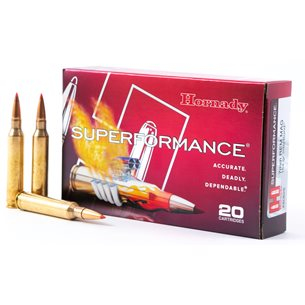 Hornady 7mm Rem Magnum Superperformance 154gr Interbond, 20st/ask