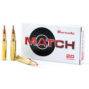Hornady 308 Win Match 155gr ELD Match, 20st/ask