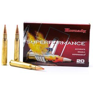 Hornady 30-06 Superperformance 180gr Interbond, 20st/ask