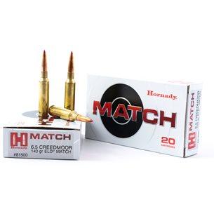 Hornady 6,5 Creedmoor Match 140gr ELD Match, 20st/ask