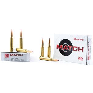 Hornady 338 Lapua Mag Match 285gr ELD Match, 20st/ask