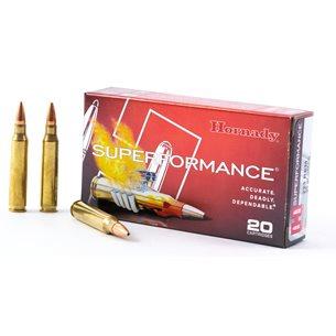 Hornady 223 Rem Superperformance 55gr GMX, 20st/ask
