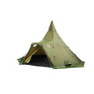 Helsport Varanger 4-6 Camp Tält Grön