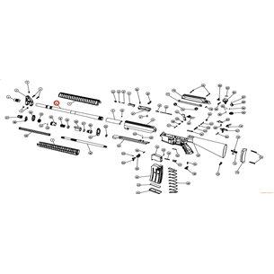 Eksen/Husan Arms Barrel, extension, extractor pin and lug mounted