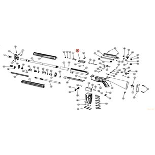 Eksen/Husan Arms Extractor mounting pin
