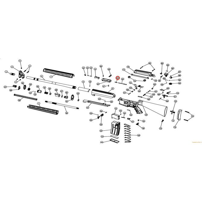 Eksen/Husan Arms Firing pin spring
