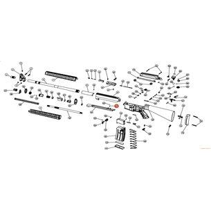 Eksen/Husan Arms Charging handle taw spring