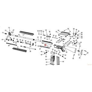 Eksen/Husan Arms Charging handle taw