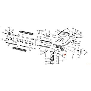 Eksen/Husan Arms Safety lever screw