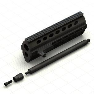 Firebird Precision TAC-12 AKDAL Short Handguard