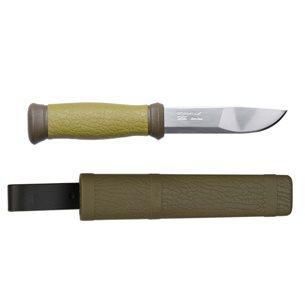Morakniv 2000 Jakt och fiskekniv Grön