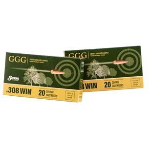 GGG .308 SMK 155gr, 20st/ask