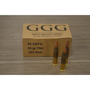 GGG .223 FMJ 55 gr, 50st/ask