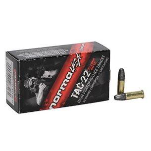 Norma Tac .22LR ammunition 50st/ask
