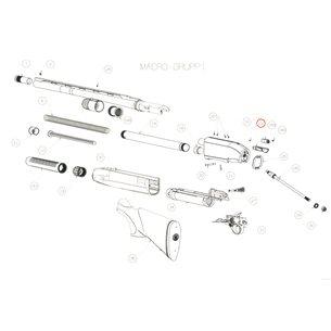 Cartridge latch, Beretta 1301