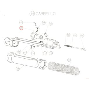 Ejector spring Beretta 1301