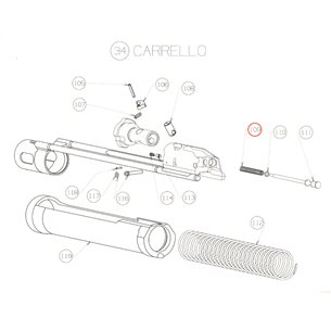 Firing pin spring, Beretta 1301