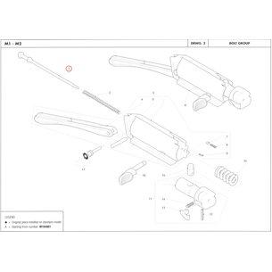 Firing pin, Benelli M2